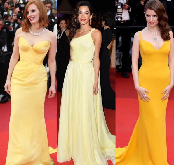 Festival di Cannes, il colore dell'anno è il giallo!