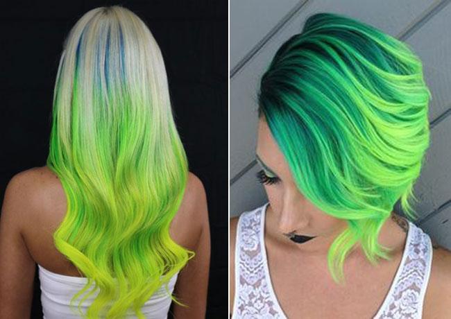 Top Estate 2016: i capelli verde ottanio sono il nuovo trend per le  GA89