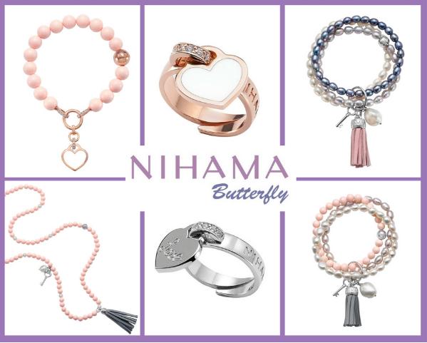 Nihama Butterfly: argento, perle e tanto colore per l'estate 2017