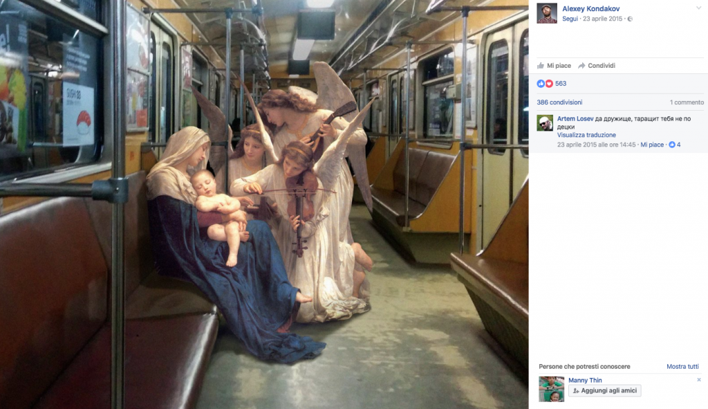 "Alexey Kondakov e i suoi ""quadri viventi"""